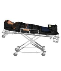 ESCAPE-MATTRESS® STRETCHER (SCHWARZ)